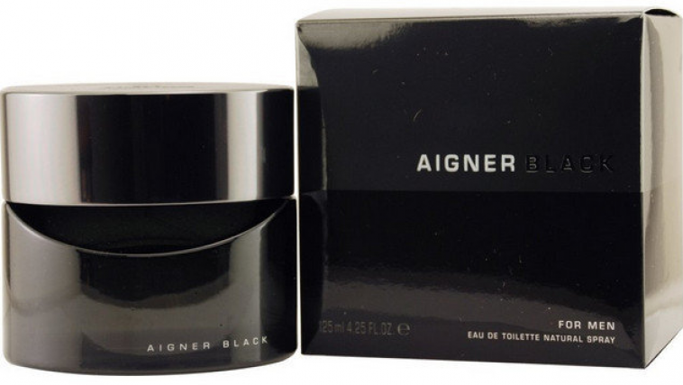 AIGNER IN BLACK MEN EDT-125ML