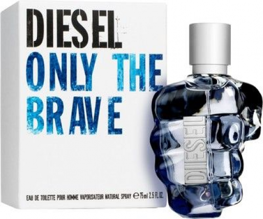 DIESEL ONLY THE BRAVE MEN EDT-75ML