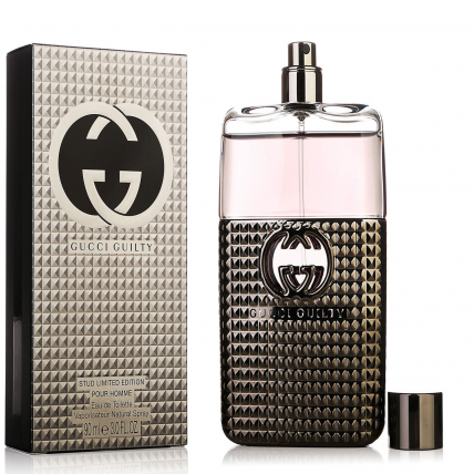 GUCCI GUILTY STUD LIMITED EDITION MEN EDT-90ML