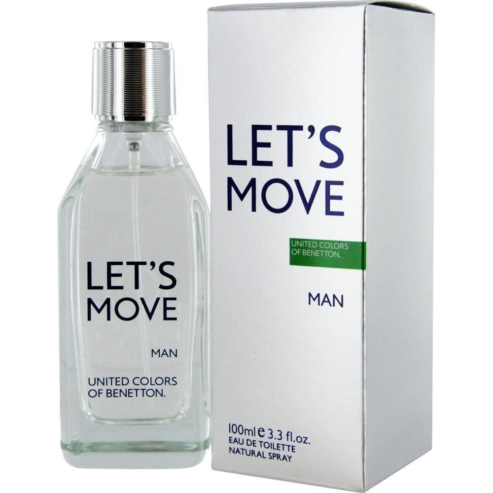 BENETTON LET'S MOVE MEN EDT-100ML