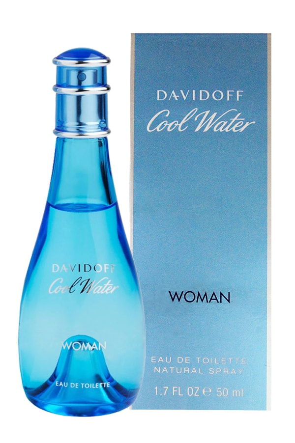 DAVIDOFF COOL WATER WOMEN EDT-50ML