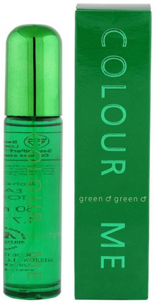 MILTON LLOYD COLOR ME GREEN MEN EDT-90ML