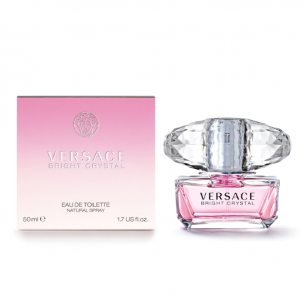 VERSACE BRIGHT CRYSTAL WOMEN EDT-50ML
