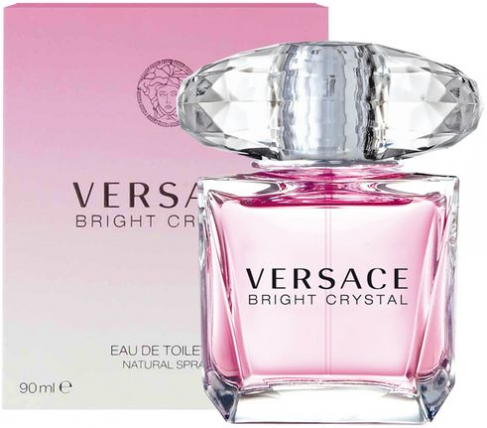 VERSACE BRIGHT CRYSTAL WOMEN EDT-90ML