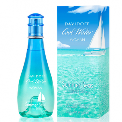 DAVIDOFF COOL WATER SUMMER SEAS LIMITED EDITION WOMEN EDT-100ML
