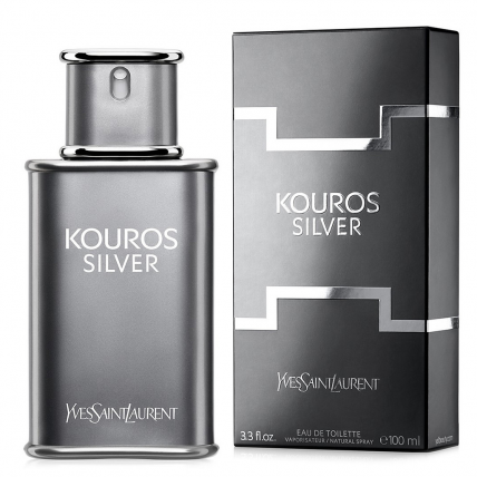 YVES SAINT LAURENT KOUROS SILVER MEN EDT-100ML