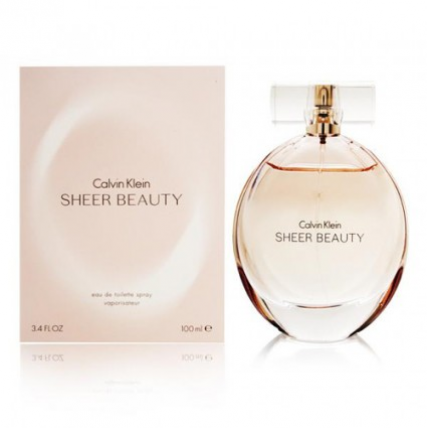 CALVIN KLEIN SHEER BEAUTY WOMEN EDT-100ML
