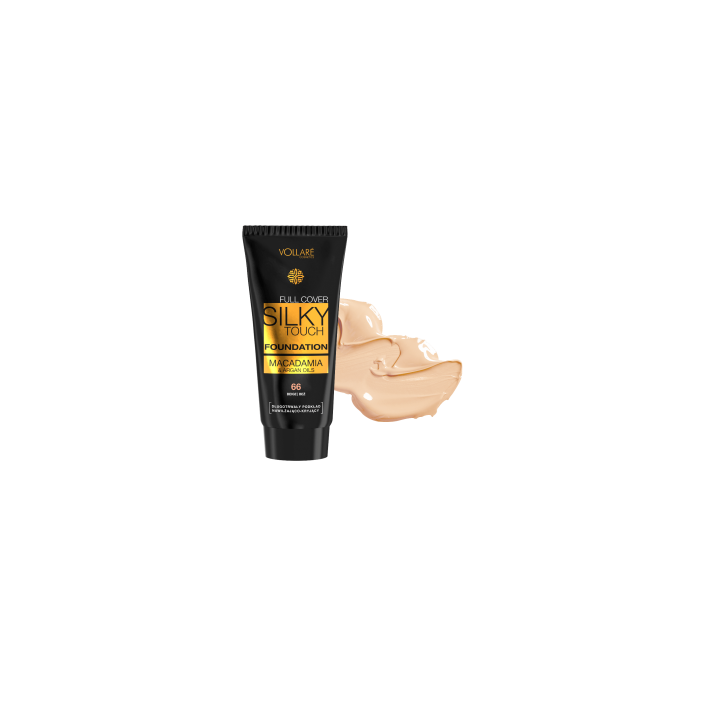 FOUNDATION SILKY TOUCH  - Made in EU
