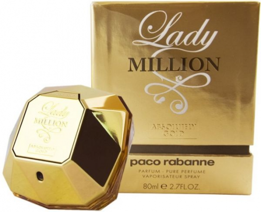 PACO MILLION ABSOLUTELY GOLD WOMEN EDP-80ML