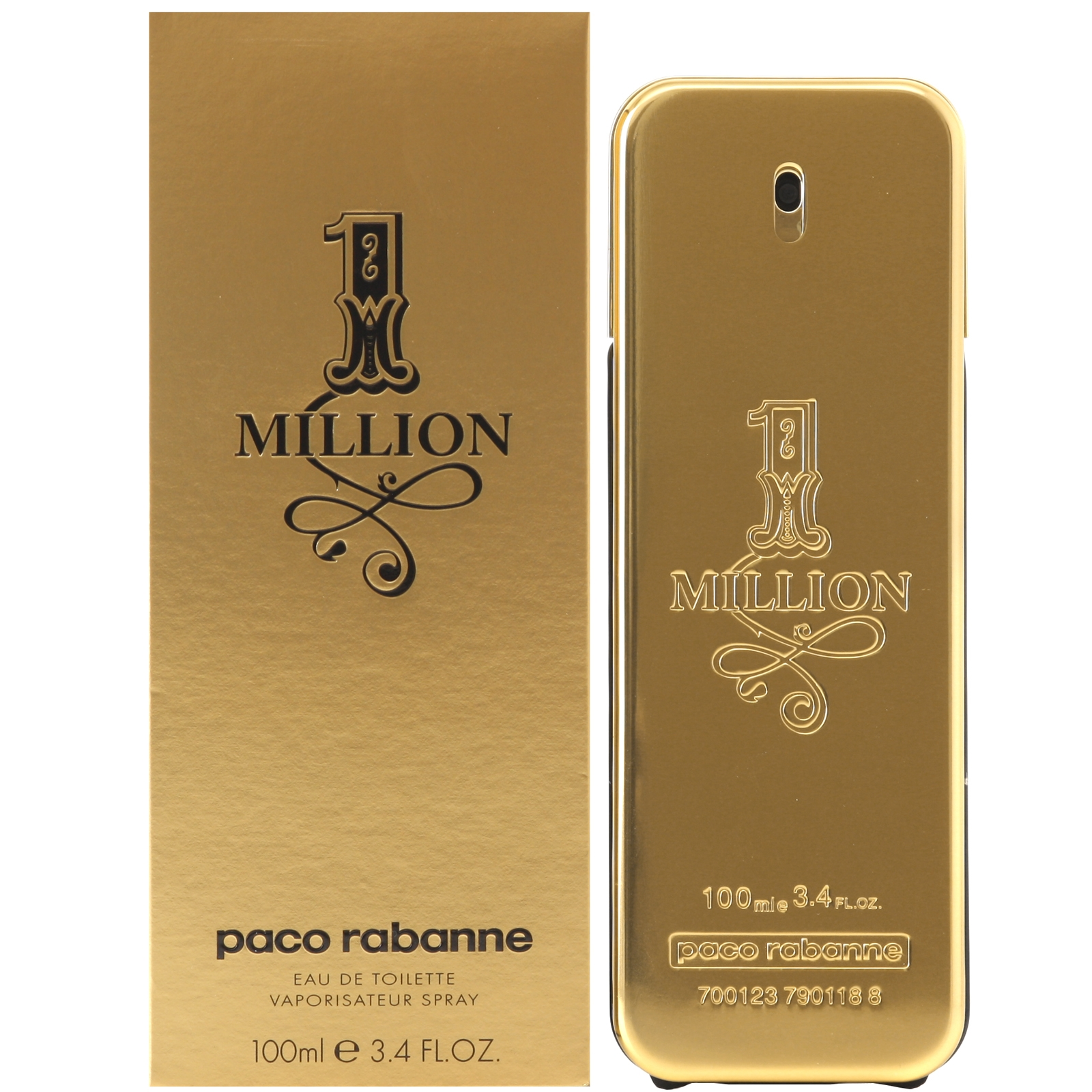 PACO RABANNE MILLION MEN EDT-100ML