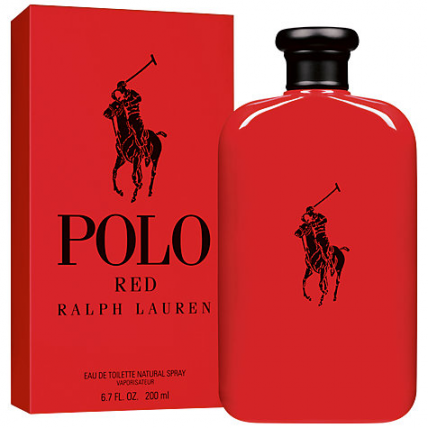 RALPH LAUREN POLO RED MEN EDT-200ML