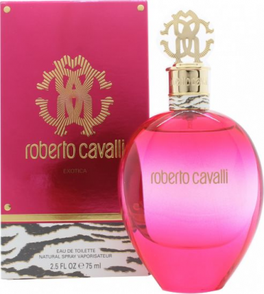 ROBERTO CAVALLI EXOTICA WOMEN EDT-75ML