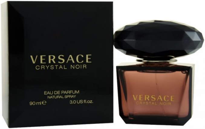 VERSACE CRYSTAL NOIR WOMEN EDT-90ML