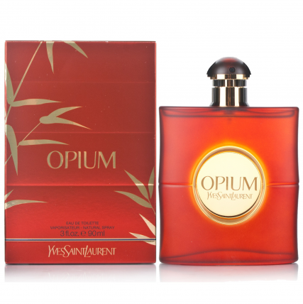 YVES SAINT LAURENT OPIUM WOMEN EDT-90ML